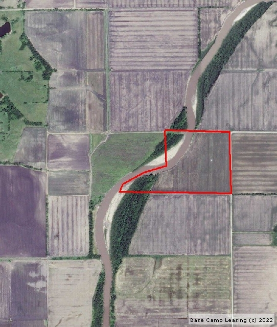 Map or photo for Grundy County, Missouri hunting lease property.