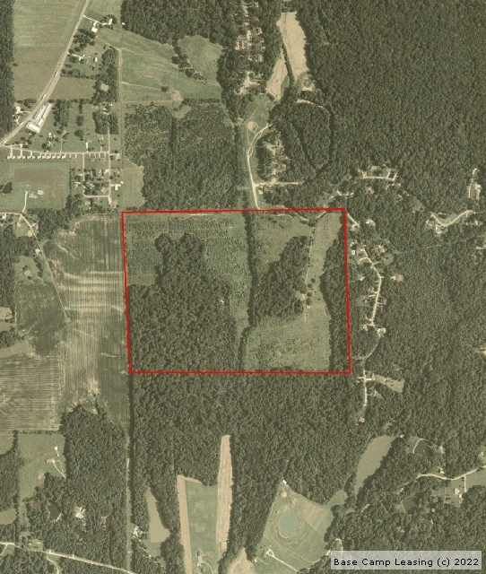 Map or photo for Jennings County, Indiana hunting lease property.