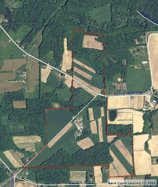 Mercer (PA) United States  city photos gallery : Mercer County Pennsylvania Hunting Lease Property #4658 | Base Camp ...