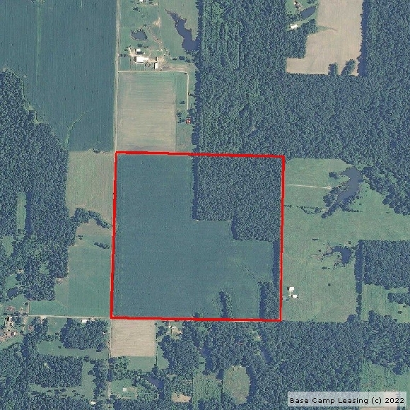 Map or photo for Marion County, Illinois hunting lease property.