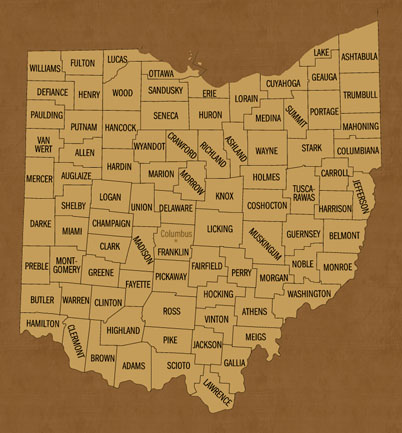 Ohio Hunting Lease Map