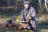 Rod and after a successful whitetail hunt.