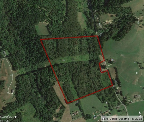 Hancock County West Virginia Hunting Lease - Property #4295