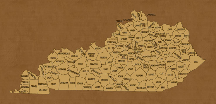 Kentucky Hunting Lease Map